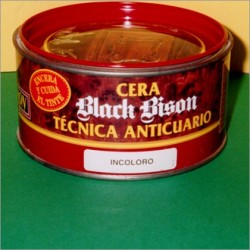 CERA ANTICUARIO BLACK BISON