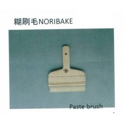 NORIBAKE. Paste brush. Pelo de cabra blanco 150mm