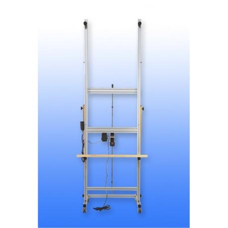 Caballete electrico de aluminio CHASSITECH GFAL 800 y 1000