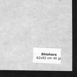 PAPELES JAPONESES SHIOHARA 62X92 CM 40 GRS