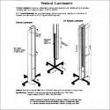 CLE Lámpara vertical