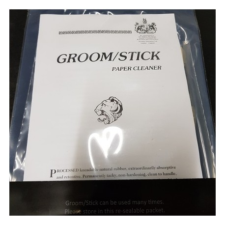 LIMPIADOR DE GOMA PARA PAPEL Groom Stick Cleaner 100 grs